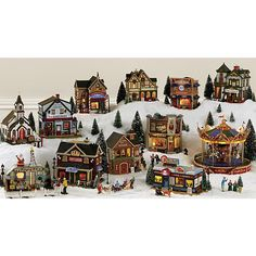 Coventry Cove by Lemax Christmas Village Building  Oak Grove Winery