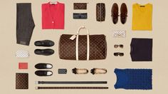 Louis Vuitton Teaches You How To Pack. Helpful even if you don't have a Louis Vuitton bag.