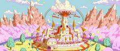 Cenários+de+Adventure+Time,+da+Cartoon+Network