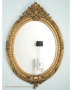 Bathroom Mirrors Guildford hartland mirror with pierced decorative ornate gold frame | mirror
