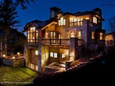 388 Exhibition Lane - Listing # 125867 - Price: $9,495,000 - The LEAST EXPENSIVE home in the Highlands. Brand new, perched on the highest lot on Exhibition, which affords panoramic views in all directions including skiers on the slopes. Filled with custom elements and built-ins and an outdoor hot tub. This is true ski-in, ski out, directly on the slopes. The best slopeside value on the market.