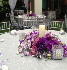 http://www.modwedding.com/2014/10/30/28-spectacular-wedding-reception-ideas-classy-luxurious-decoration/ #wedding #weddings #wedding_centerpiece Via Khareyan Events