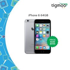 Order #Apple #iPhone6 64GB Online at #Tigmoo on a Special #Saleprice of ZMW 8999 Check out the #iPhonesale & order now for a #quickdelivery, #freeshipping https://www.tigmoo.com/apple-iphone-6-64gb-gray.html