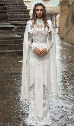 Lior Charchy Wedding Dresses 2018 – India 2018 Bridal Collection high neck wedding gown heavy embellishment sheath wedding dress The post Lior Charchy Wedding Dresses 2018 – India 2018 Bridal Collection appeared first on Best Of Daily Sharing. Wedding Dresses 2018, Wedding Attire, Bridal Dresses, Event Dresses, Casual Dresses, Fringe Wedding Dress, Perfect Wedding Dress, Dress Wedding, India Wedding