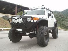 Built to be unstoppable Jeep Truck, 4x4 Trucks, Custom Trucks, Lifted Trucks, Toyota Fj Cruiser, Land Cruiser, My Dream Car, Dream Cars, 2008 Jeep Wrangler