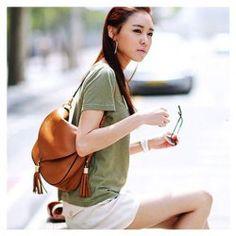 New Arrival Fringe Embellished and Covered Design One-Shoulder Bag For Female (BROWN) China Wholesale - Sammydress.com