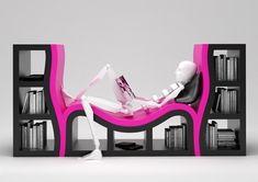 creative furniture designs 05 30 of the Most Creative Bookshelves Designs