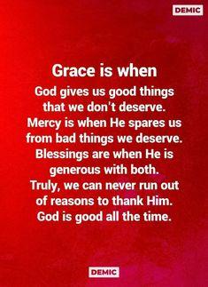 Lyric Quotes, Lyrics, God Is Good, Amazing Grace, Blessed, Good Things, Inspirational Quotes, Faith, Teaching