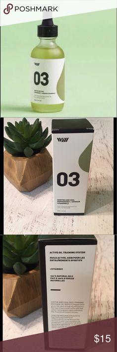 Way of will massage oil NIB.  As featured in fabfitfun box. way of will Makeup