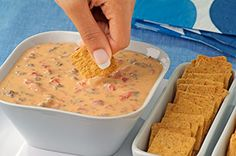 Cheesy VELVEETA Dips recipe