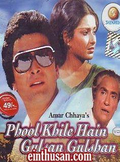 Phool Khile Hain Gulshan Gulshan Hindi Movie Online - Rishi Kapoor, Moushumi Chatterjee and Ashok Kumar. Directed by Sikandar Khanna. Music by Laxmikant Pyarelal. 1978 [U] w.eng.subs