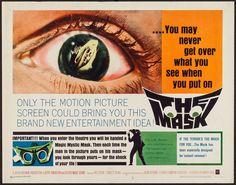 The Mask (1961) Stars: Paul Stevens, Claudette Nevins, Bill Walker, Anne Collings, Martin Lavut ~ Director: Julian Roffman