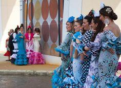 Azules... | Feria de Abril Sevilla 2015