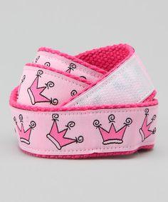 Take a look at this Pretty Princess Velcro Belt by Hero Huggers on #zulily today!