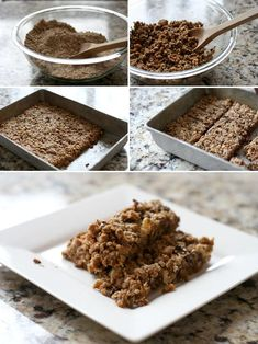 Homemade Granola Bars - the best way to control the quality of the ingredients in your food is to make it yourself.  Also, it is way more affordable to make your own granola bars vs. buying them in the stores.  Mix in whatever kinds of mix-ins you'd like (chocolate chips, nuts, dried fruits, etc.)  I love this recipe!  I always make sure I have some made and ready to go in the house! :)