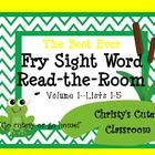 This pond-themed Read-the-Room game offers you the flexibility to differentiate your centers to accommodate the needs of your students.  In this pa...