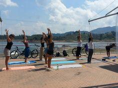 Arrancamos con #yoga en #guatape .. 10 am .. los esperamos!!!