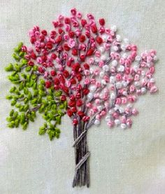 9 Ways to Use a French Knot In Your Needlework There are so many different stitch options when it comes to hand embroidery and the French knot is a stunning, yet easy one to master. Now, when you hear the word knot, you may not thing beautiful… Silk Ribbon Embroidery, Crewel Embroidery, Hand Embroidery Patterns, Cross Stitch Embroidery, Embroidery Designs, Flower Embroidery, French Knots, Sewing Crafts, Needlework