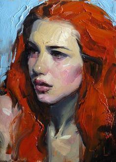 """Daily+Paintworks+-+""""Citrine""""+-+Original+Fine+Art+for+Sale+-+©+John+Larriva"""