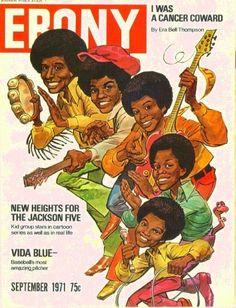 Jackson Five Ebony magazine Seotember 1971