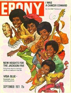 The Jackson Five, Ebony Magazine, September 1971