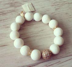 No.4 / Jewelry Bracelet Accessory Fashion Design DIY Handmade Crafts 팔찌 쥬얼리 연예인팔찌 핸드메이드 원석쥬얼리