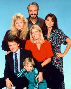 Family Ties sha la la la... I loved this show when I was a kid. One thing I remember watching as a fam when my parents were still married.