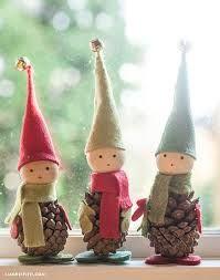 Resultado de imagen para decoracion piñas para navidad