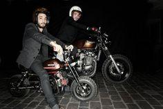 DAUPHINE LAMARCK // preparateurs moto Parisiens