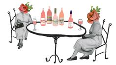 PUNCH House Wine illustration - Natalie K Nelson