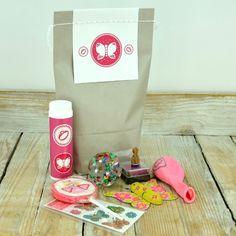 Wundertüte pink - Mitgebsel für kleine Fans von Rosa und hübschen Dingen. Personalisierbar mit Namen und Deiner Botschaft.