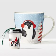 Penguin Gift Set. A fun ornament they won't forget.