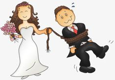 The bride and groom png PNG and Clipart Wedding Images, Wedding Themes, Wedding Cards, Wedding Decorations, Rio Grande Do Norte, Portrait Illustration, Shrek, String Art, Disney Art