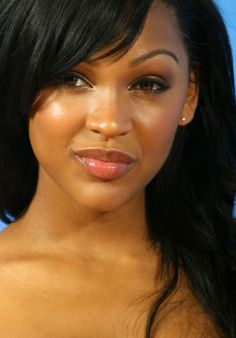 Meagan Good, one of a trailer load of beautiful black women. Most Beautiful Black Women, Beautiful Celebrities, Beautiful Actresses, Beautiful People, Beautiful Ladies, Celebrities Hair, Black Celebrities, Beautiful Things, Megan Good