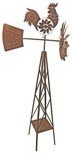 Red Carpet Studios 34265 58-Inch Breeze Buddies Windmill, Rooster by Red Carpet, http://www.amazon.com/dp/B004W8KPL0/ref=cm_sw_r_pi_dp_2kzTqb0FM3PQD