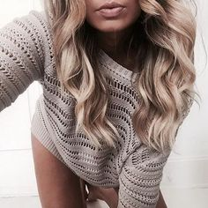The Castaway Knit on the one and only Elle Ferguson.