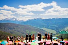 The glorious Vail Wedding Deck.  Photo courtesy of: www.DreamtimeImages.com  Planner: www.IDoWeddingServices.com