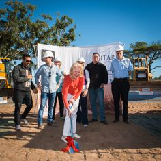 Sitari Country Estate's Groundbreaking Ceremony on the April 2014 Country Estate
