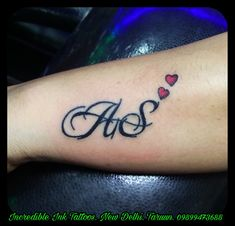 Stylish S Letter Tattoo On Hand