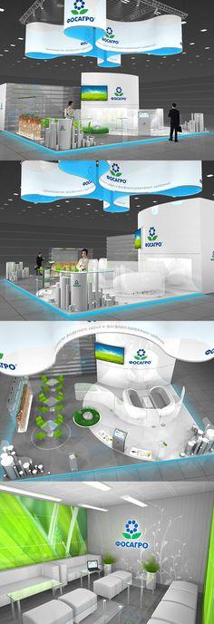 FOSAGRO exhibition stand on Behance