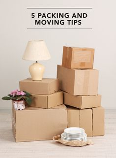 Tips and products to help make your next move less stressful