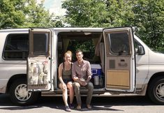 This van dwelling story is a guest post by Mat and Danielle - share yours here! We're Mat and Danielle – two Canadian, minimalist nomads who are exploring long-term travelling,