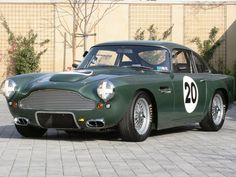 Aston Martin DB4 Racing Car 1962