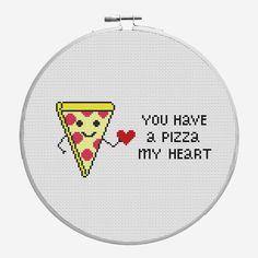 Funny Valentine's Days Cross Stitch PDF Pattern por CrazzzyStitch