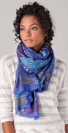 lovely Yarnz cashmere scarf