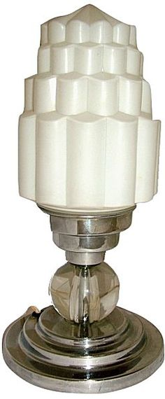 1930s Art Deco Table Lamp