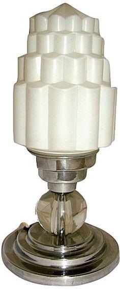 1930s Art Deco Table Lamp