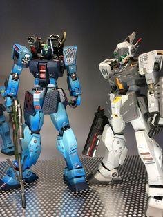 Battle Robots, Gundam Art, Mecha Anime, Gundam Model, Plastic Models, Police, Future, Twitter, Beautiful