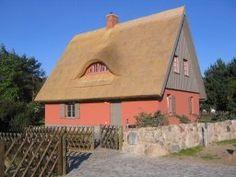 Reetdachhaus in ruhiger, idyllischer Lage am Ortsrand von Kamminke auf der Insel Usedom.