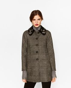 Image 2 of A-LINE DUFFLE COAT from Zara | My style | Pinterest